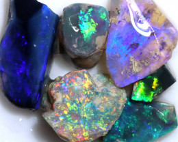 21.00 CTS BLACK OPAL RUBS PRE FACED PARCEL [BR7919]