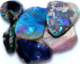 22.70 CTS BLACK OPAL RUBS PRE FACED PARCEL [BR7924]