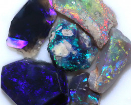 21.80 CTS BLACK OPAL RUBS PRE FACED PARCEL [BR7926]
