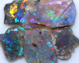 20.00 CTS BLACK OPAL RUBS PRE FACED PARCEL [BR7932]