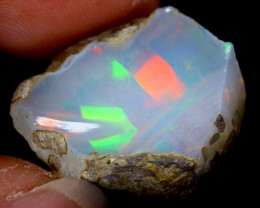 16cts Natural Ethiopian Welo Rough Opal / WR3658