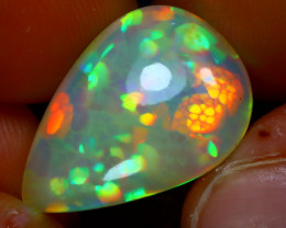 Welo Opal 6.71Ct Natural Ethiopian Play of Color Opal JR174/A54