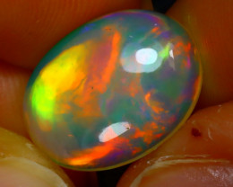 Welo Opal 3.76Ct Natural Ethiopian Play of Color Opal JR176/A54