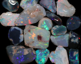 59.00 CTS BLACK OPAL RUB PRE FACED  [BR7949]