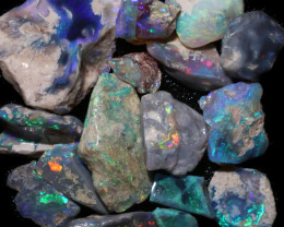 66.82 CTS BLACK OPAL RUB PRE FACED  [BR7955]