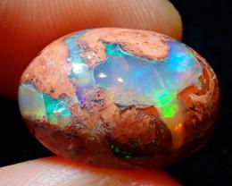 12.12ct Mexican Matrix Cantera Multicoloured Fire Opal