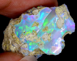 17cts Natural Ethiopian Welo Rough Opal / WR3743