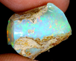 13cts Natural Ethiopian Welo Rough Opal / WR3748