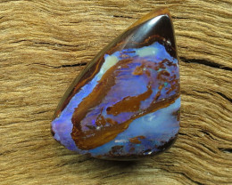 16cts. QUEENSLAND PIPE OPAL PATTERN STONE.