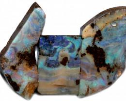 277.41 CTS BLUE BOULDER OPAL ROUGH -  [PS212]6