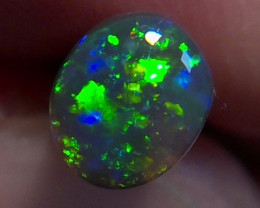 small Lighting Ridge Solid Gem Black Opal Muitiple Gem colors