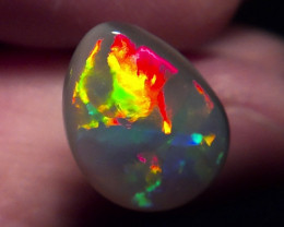 3.20ct  Super bright dark Opal  Electric Muitiple Gem colors
