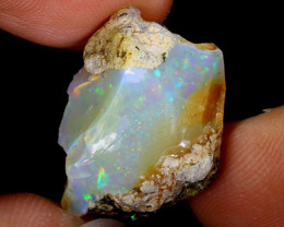 13cts Natural Ethiopian Welo Rough Opal / WR3762