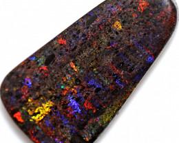 75.85 CTS ANDAMOOKA  MATRIX OPAL RED ORANGE FIRE[SEDA7626]