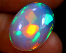 SOCCER PATTERN 5.25cts Natural Ethiopian TOP Welo Opal / BF3283