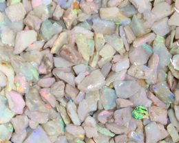 450 ct Clean Bright Coober Pedy Opal Chips/ inlay