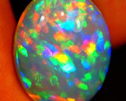 16.50 CT Contraluz!! Rare Quality Natural Welo Ethiopian Opal-MAA6