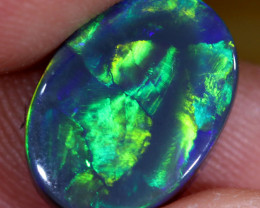 2.60CTS DOUBLE SIDED BLACK  OPAL [CD10]