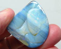 100ct Queensland Boulder Opal Carved Picture Stone