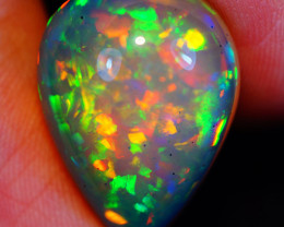 12.91CT 21X15MM Chaff Pattern!! Rare Quality Welo Ethiopian Opal-MA23