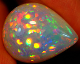 15.52CT 21X17MM Patchwork!! Natural White Base! Welo Ethiopian Opal-MA25