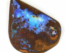 69ct 37x27mm Natural Boulder Opal Rough [BSR-0026]