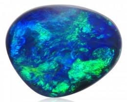 0.83 ct Black Opal from Lightning Ridge - Australia