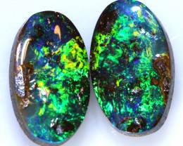 4.3 CTS QUALITY  BOULDER OPAL PAIR  INV-1774