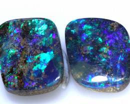8 CTS QUALITY  BOULDER OPAL PAIR  INV-1776