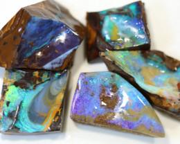 5= 446cts Australian Boulder Opal Parcel ML02151