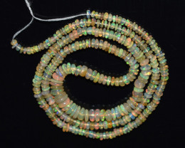 23.60 Ct Natural Ethiopian Welo Opal Beads Play Of Color OB1130