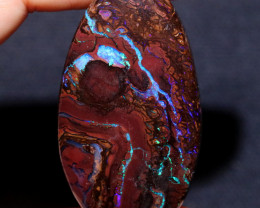 108.34 CTS DOUBLE SIDE STUNNING BOULDER OPAL FROM KOROIT [BMB199]