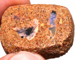 48CTS BOULDER OPAL PIPE PREFINISHED RUB ADO-5504