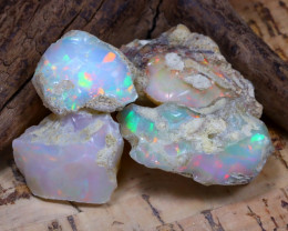Welo Rough 47.64Ct Natural Ethiopian Play Of Color Rough Opal D1401
