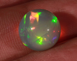 8.08CT~BRILLIANT 5/5 DARK BASE WELO OPAL SPHERE~FULL SATURATION OF FIRE!!!
