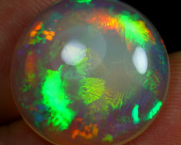 8.40cts Unique Fern Pattern Natural Ethiopian Welo Opal
