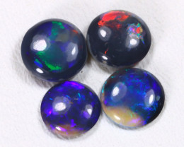 N1 1.70Cts Australian Lightning Ridge Black Opal Parcel Lot ES0173