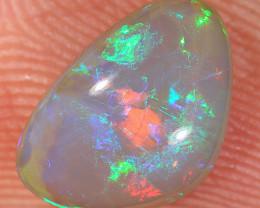 1.5ct 10x7mm Solid Lightning Ridge Dark Crystal Opal [LO-2658]