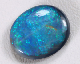 N4 2.68Ct Natural Australian Lightning Ridge Black Opal Lot E1705