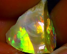 7.51Ct Multi Color Play Ethiopian Welo Opal Rough  HN32/R2