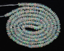 16.70 Ct Natural Ethiopian Welo Opal Beads Play Of Color OB1146