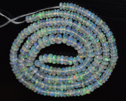 30.00 Ct Natural Ethiopian Welo Opal Beads Play Of Color OB1150
