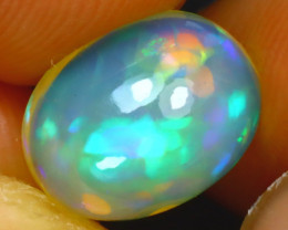 Welo Opal 1.87Ct Natural Ethiopian Play of Color Opal J1909/A28