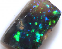 1.41 CTS BLACK OPAL RUB PRE FACED  [BR7976]