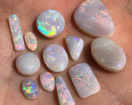 19.3cts Lightning Ridge white opal