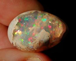 20.56ct Mexican Matrix Cantera Multicoloured Fire Opal