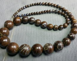 Boulder Opal Beads Strand   V03