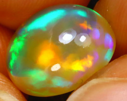 Welo Opal 3.30Ct Natural Ethiopian Play of Color Opal H2005/A44