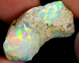 10cts Natural Ethiopian Welo Rough Opal / WR3928