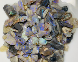 390 CTs Colourful Clean Bright Rough Opals #1447